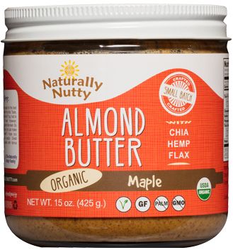 Image result for naturally nutty almond butter maple