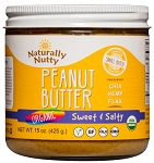 Organic Natural Peanut Butter - Sweet n Salty