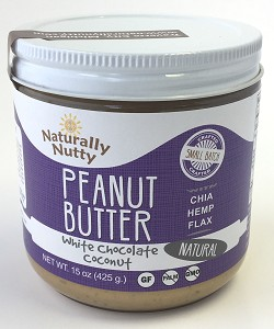 White Chocolate Coconut Peanut Butter