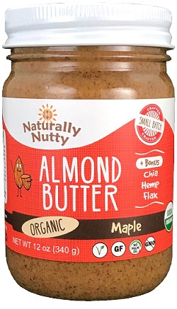 Organic Maple Almond Butter