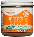 Organic Cinnamon Vanilla Sunflower Butter